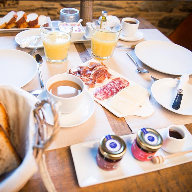 Casona labrada desayuno